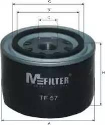 Mfilter TF 57 - Масляный фильтр autodnr.net
