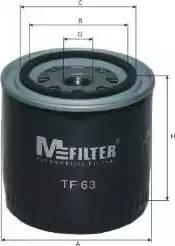 Mfilter TF 63 - Масляный фильтр autodnr.net