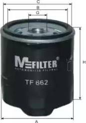 Mfilter TF 662 - Масляний фільтр autocars.com.ua