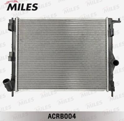 Miles acrb004 - Радиатор, охлаждение двигателя autodnr.net