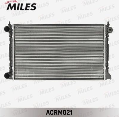 Miles acrm021 - Радиатор, охлаждение двигателя autodnr.net