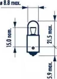 Narva 17131 - Лампа, входное освещение car-mod.com