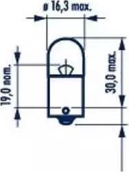 Narva 17311 - Лампа, входное освещение car-mod.com