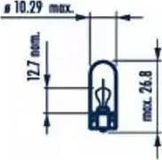 Narva 17097 - Лампа, входное освещение car-mod.com
