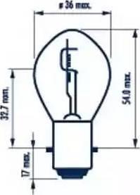 Narva 49531 - Лампа накаливания, фара дальнего света car-mod.com
