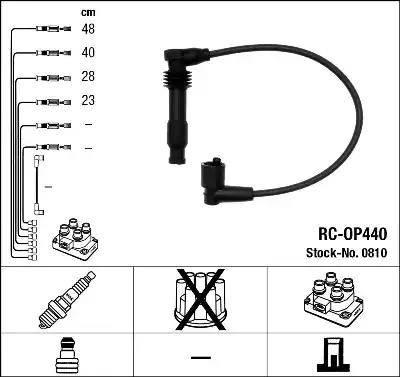 NGK 0810 - Комплект проводов зажигания avtokuzovplus.com.ua