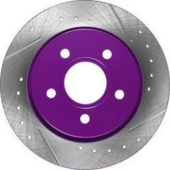 NiBK RN1189DSET - Экономичный тормозной диск avtokuzovplus.com.ua