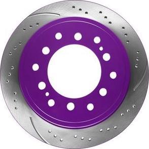 NiBK RN1216DSET - Экономичный тормозной диск avtokuzovplus.com.ua