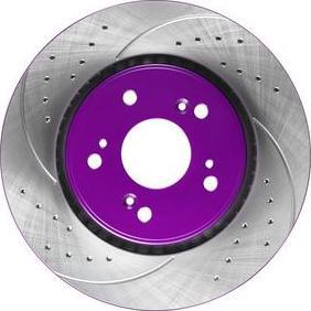 NiBK RN1243DSET - Экономичный тормозной диск avtokuzovplus.com.ua