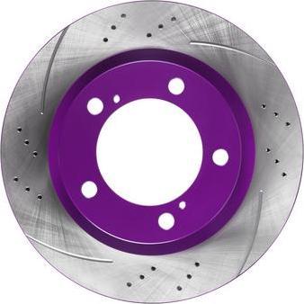 NiBK RN1268DSET - Экономичный тормозной диск car-mod.com