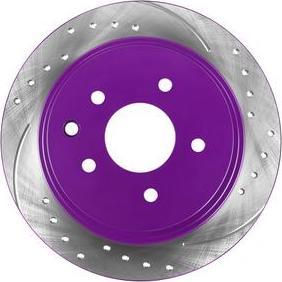 NiBK RN1302DSET - Экономичный тормозной диск avtokuzovplus.com.ua