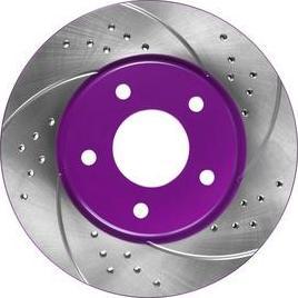 NiBK RN1366DSET - Экономичный тормозной диск avtokuzovplus.com.ua