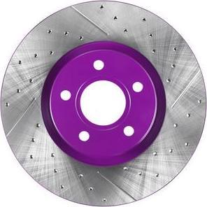NiBK RN51001DSET - Экономичный тормозной диск avtokuzovplus.com.ua