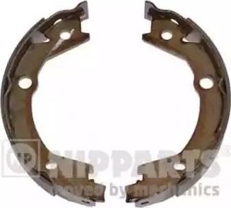 Nipparts n3500529 - Комплект тормозных колодок, стояночная тормозная система autodnr.net