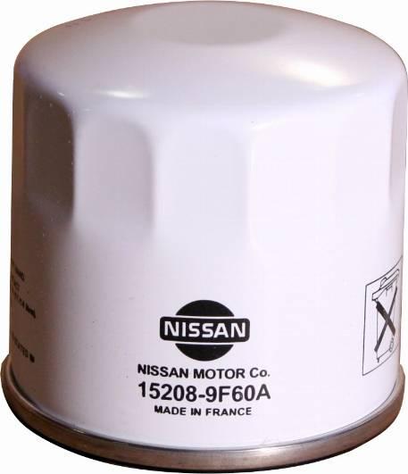NISSAN 15208-9F60A - Масляний фільтр autocars.com.ua
