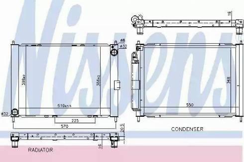 Nissens 637654 - Модуль охлаждения car-mod.com