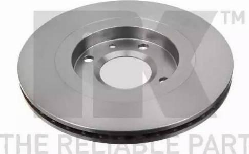 NK 209915 - Тормозной диск autodnr.net