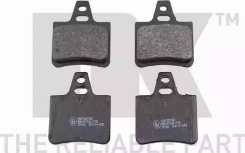 NK 221932 - Комплект тормозных колодок, дисковый тормоз autodnr.net