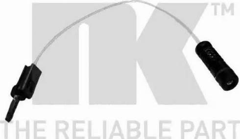 NK 280052 - Сигнализатор, износ тормозных колодок autodnr.net