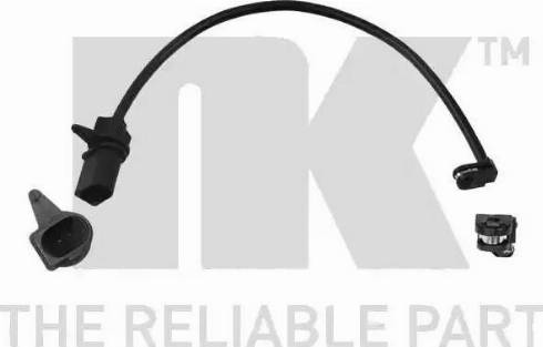 NK 280201 - Сигнализатор, износ тормозных колодок autodnr.net