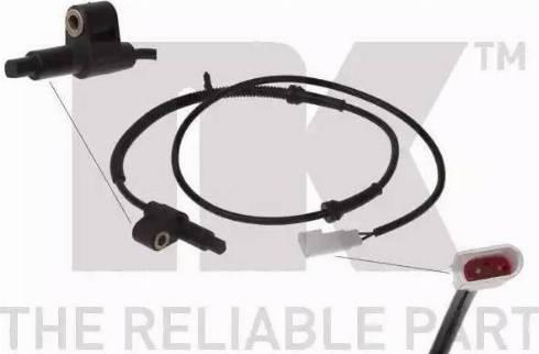 NK 292502 - Датчик ABS, частота вращения колеса autodnr.net