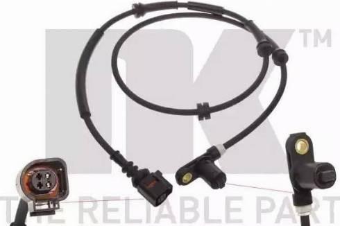 NK 292529 - Датчик ABS, частота вращения колеса autodnr.net