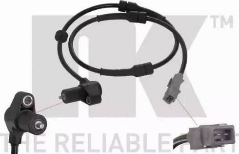NK 293724 - Датчик ABS, частота вращения колеса autodnr.net