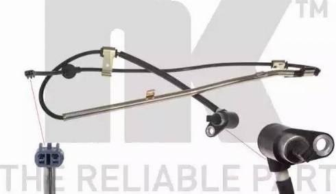NK 295207 - Датчик ABS, частота вращения колеса autodnr.net