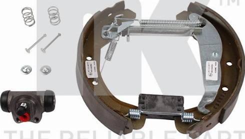 NK 443658902 - Комплект тормозов, барабанный тормозной механизм autodnr.net