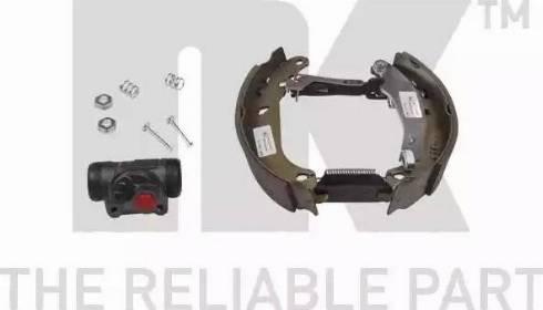 NK 443947601 - Комплект тормозов, барабанный тормозной механизм autodnr.net