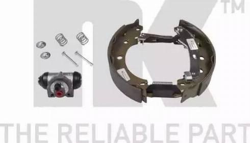 NK 443963501 - Комплект тормозов, барабанный тормозной механизм autodnr.net