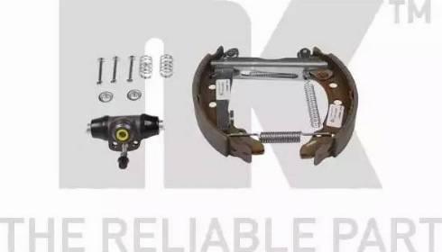 NK 444734001 - Комплект тормозов, барабанный тормозной механизм autodnr.net