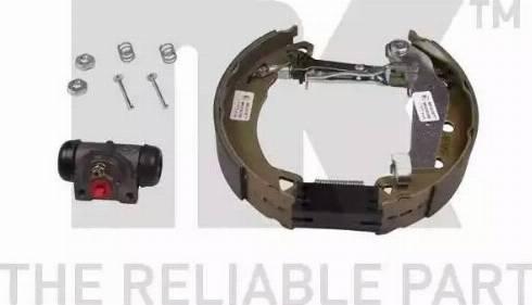 NK 449938901 - Комплект тормозов, барабанный тормозной механизм autodnr.net