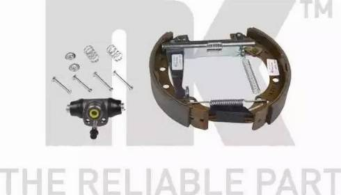 NK 449952001 - Комплект тормозов, барабанный тормозной механизм autodnr.net