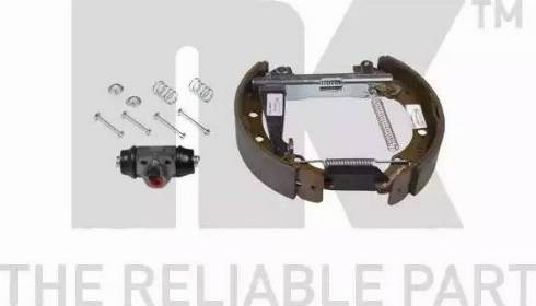 NK 449952002 - Комплект тормозов, барабанный тормозной механизм autodnr.net
