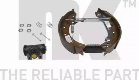 NK 449957201 - Комплект тормозов, барабанный тормозной механизм autodnr.net