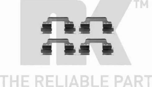 NK 7915648 - Комплектующие, колодки дискового тормоза autodnr.net