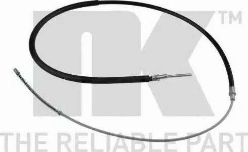 NK 904754 - Трос, стояночная тормозная система autodnr.net