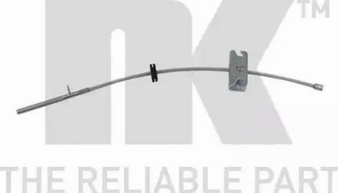 NK 909913 - Трос, стояночная тормозная система autodnr.net