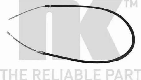 NK 909934 - Трос, стояночная тормозная система autodnr.net