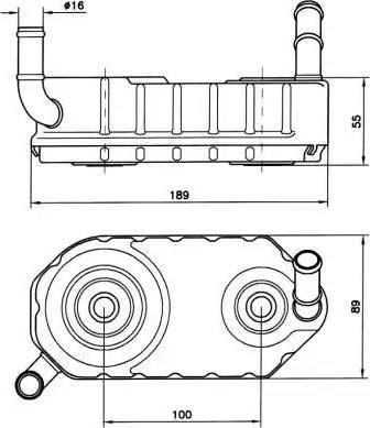 NRF 31004A - Масляный радиатор, автоматическая коробка передач car-mod.com