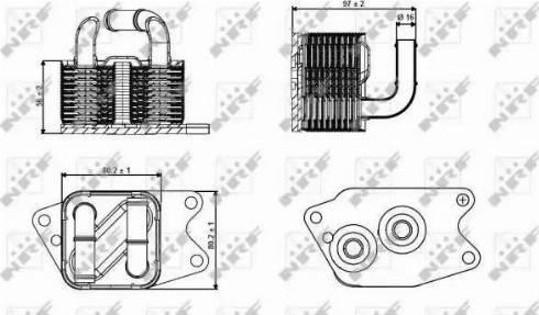 NRF 31265 - Масляный радиатор, автоматическая коробка передач car-mod.com