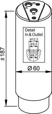 NRF 33327 - Осушитель, кондиционер car-mod.com