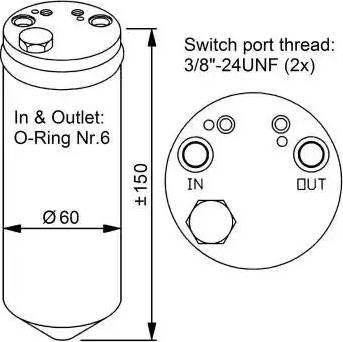 NRF 33329 - Осушитель, кондиционер car-mod.com