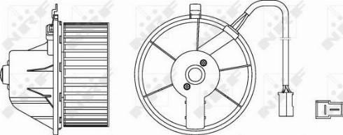 NRF 34152 - Вентилятор салона car-mod.com