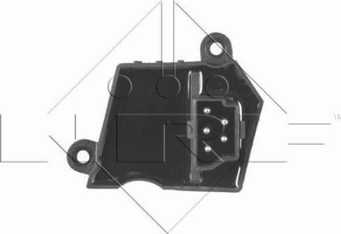 NRF 342001 - Сопротивление, реле, вентилятор салона car-mod.com