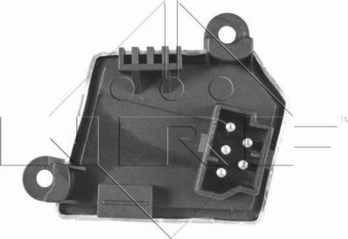 NRF 342002 - Сопротивление, реле, вентилятор салона car-mod.com