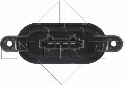 NRF 342068 - Сопротивление, реле, вентилятор салона car-mod.com