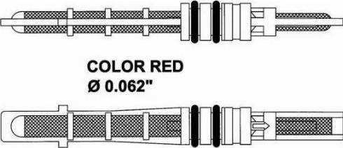 NRF 38208 - Расширительный клапан, кондиционер car-mod.com