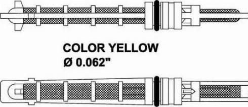 NRF 38212 - Расширительный клапан, кондиционер car-mod.com